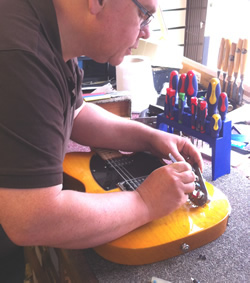 guitar repairs bognor regis sussex